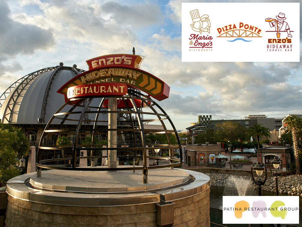 Patina disney springs new restaurants